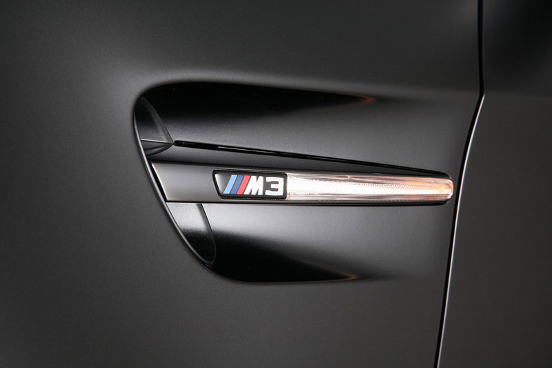 BMW Frozen Black Edition M3 Coupe, Seitenblinkelement