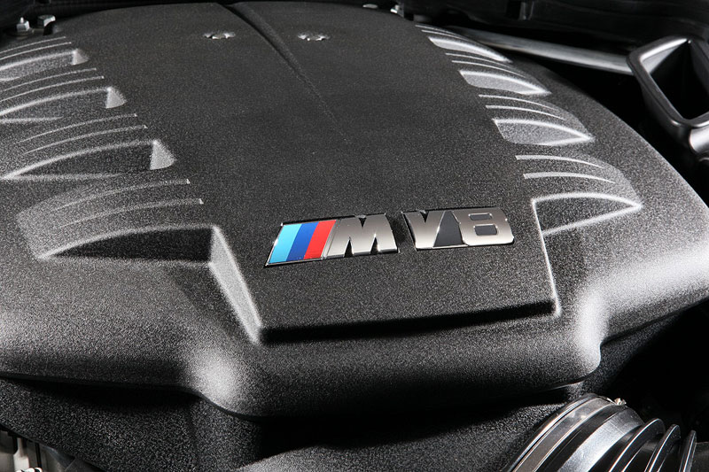 BMW Frozen Black Edition M3 Coupe, V8-Hochdrehzahlmotor