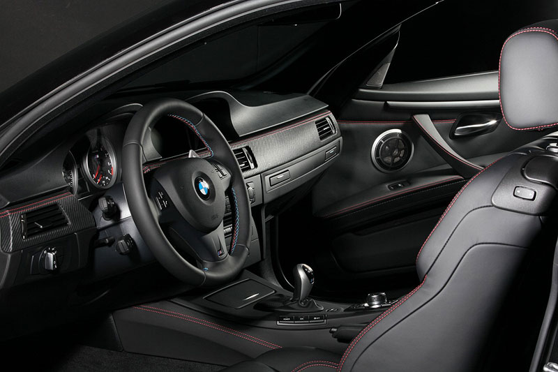 BMW Frozen Black Edition M3 Coupe, Innenraum
