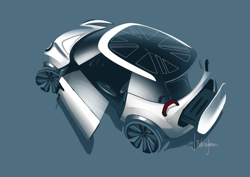 MINI Rocketman Concept Designskizze