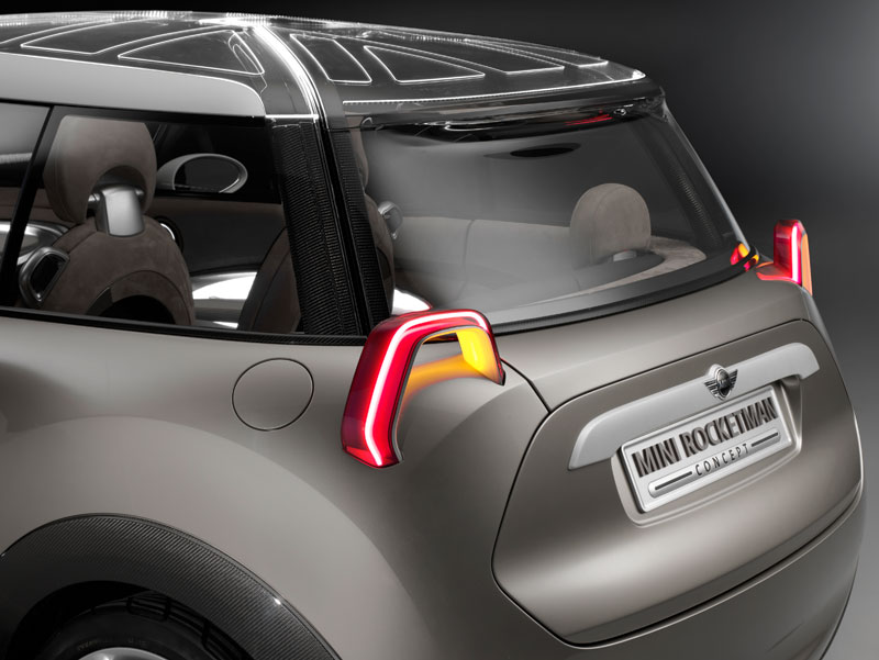 MINI Rocketman Concept, Heckansicht.