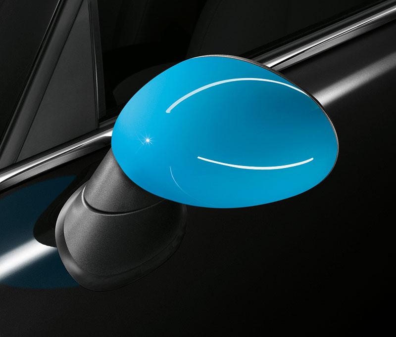 Außenspiegelkappe - Blau
