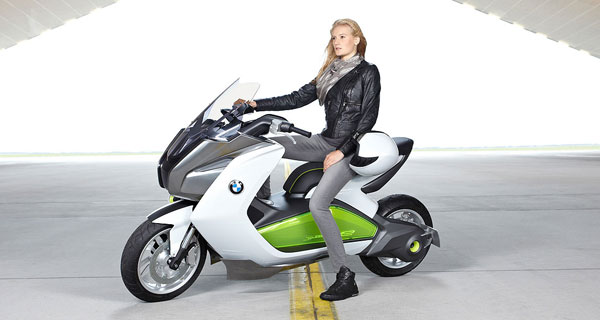 bmw motorrad concept e designkonzept eines bmw elektro. Black Bedroom Furniture Sets. Home Design Ideas