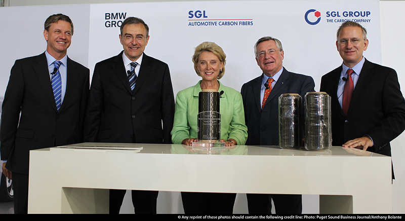 Joint Venture der BMW Group und SGL ACF in Moses Lake, USA