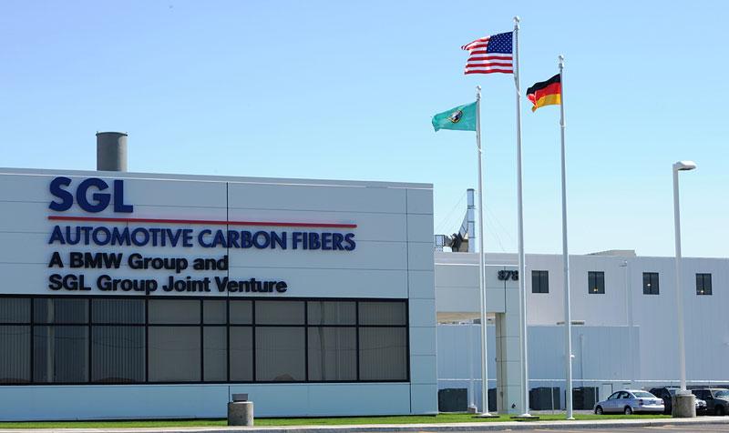 SGL Automotive Carbon Fiber in Moses Lake