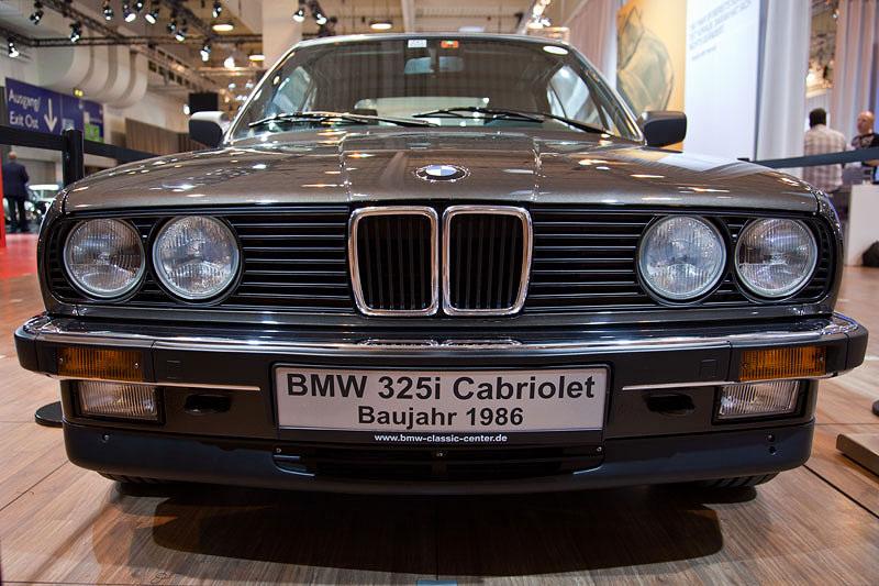 BMW 325i Cabrio von Matthias Schotten (BMW 3er Club) auf der Techno Classica 2011