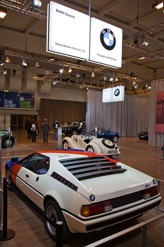 BMW M1 auf dem BMW-Messestand, Techno Classica 2011