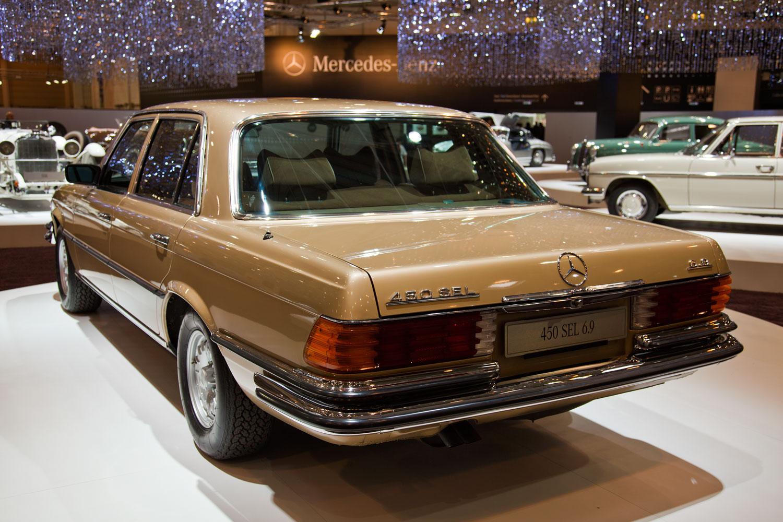 Foto techno classica 2011 mercedes benz 450 sel 6 9 for Mercedes benz 450 sel 6 9