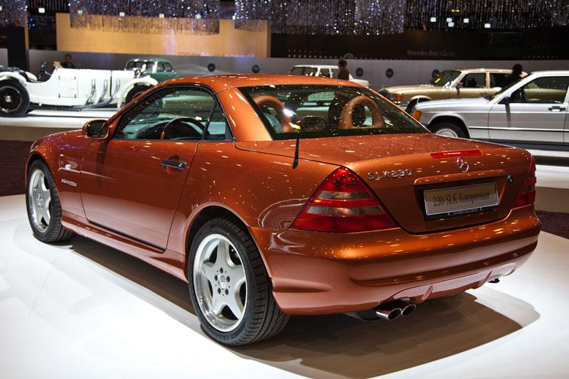 Classica 2011: Mercedes-Benz SLK 230 Kompressor (Baureihe R 170