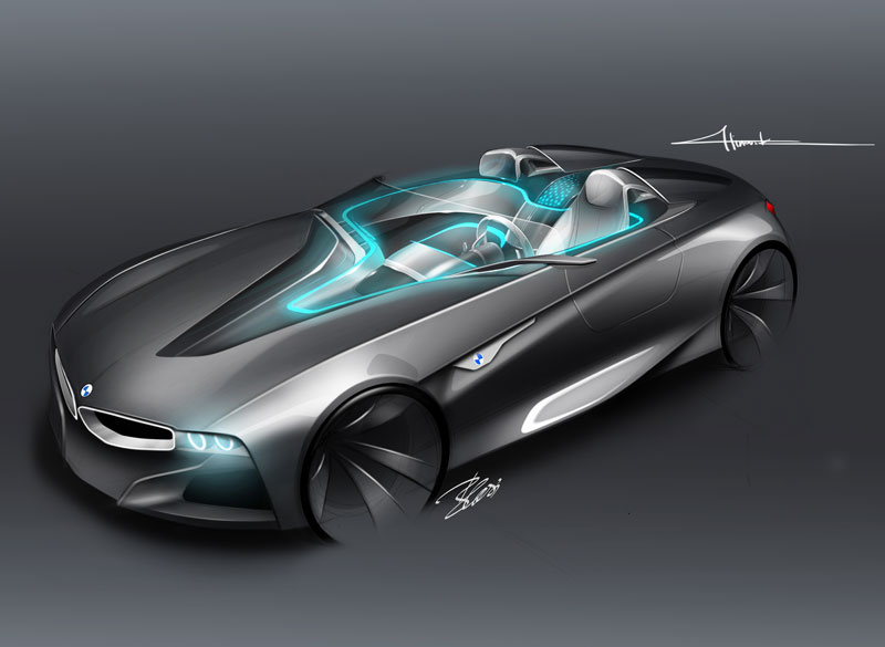 BMW Vision ConnectedDrive, Designskizze