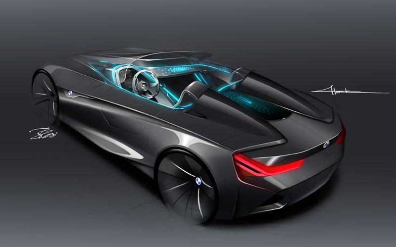 BMW Vision ConnectedDrive, Designskizze