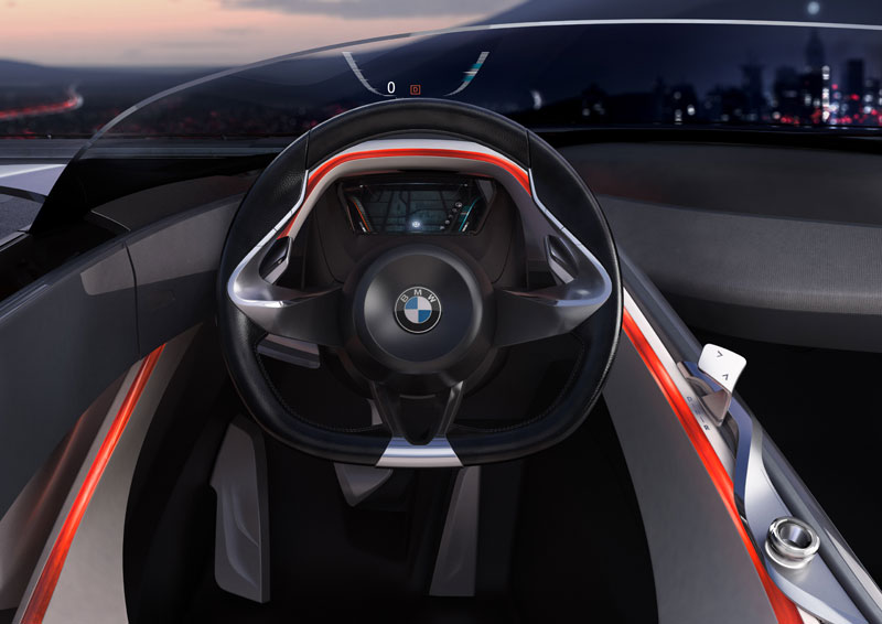 BMW Vision ConnectedDrive, Cockpit