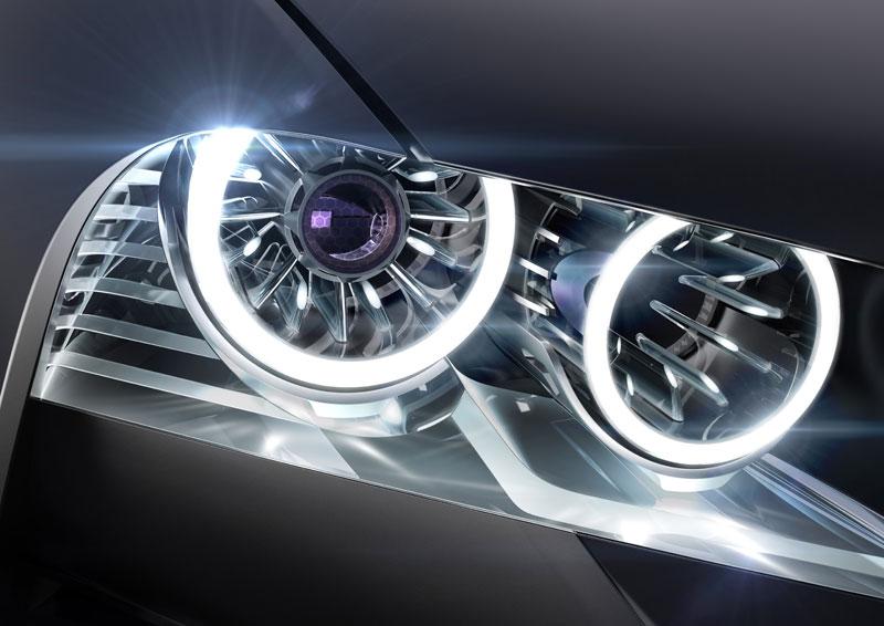 BMW Vision ConnectedDrive, Schweinwerfer