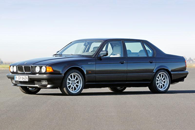 BMW 750iL (E32) mit V12-Motor