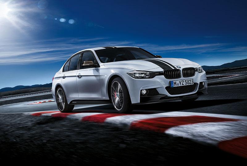 BMW 3er Limousine mit BMW M Performance Komponenten