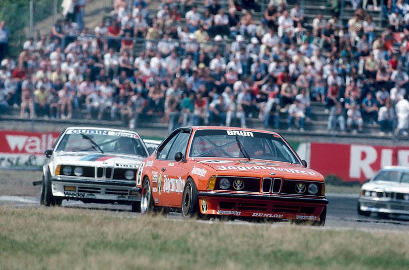 BMW 635CSi Gruppe A Jägermeister mit Hans-Joachim Stuck, DPM 1984
