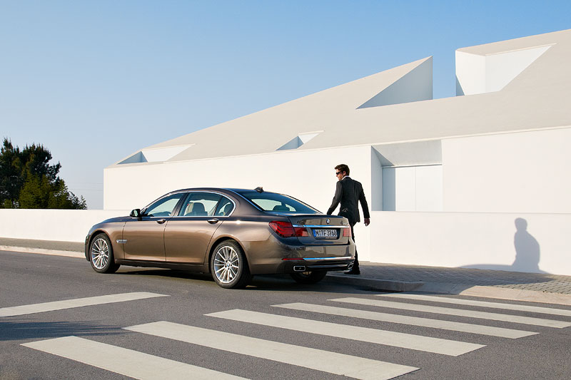 BMW 750Li Facelift (F02 LCI)