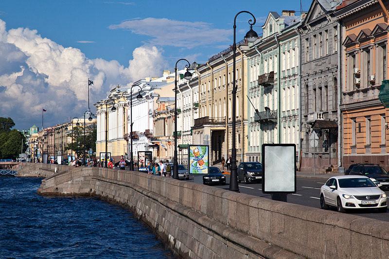 Sankt Petersburg: Prachtbauten an der Newa