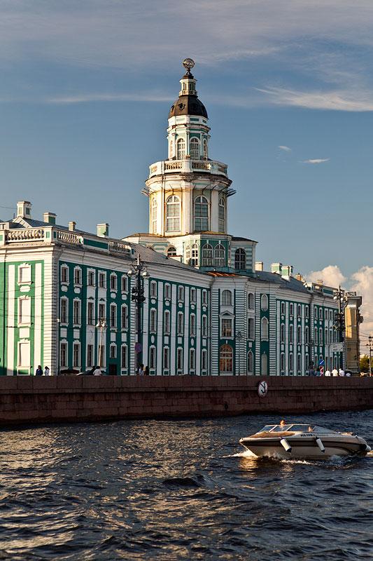 Sankt Petersburg, an der Newa