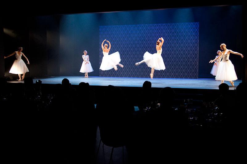 russisches Ballett - das passte zum Veranstaltungsort
