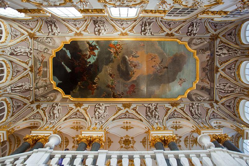 Deckenmalerei im Winterpalast, Sankt Petersburg
