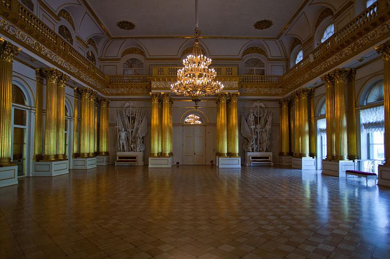 großer Saal im Winterpalast, Sankt Petersburg