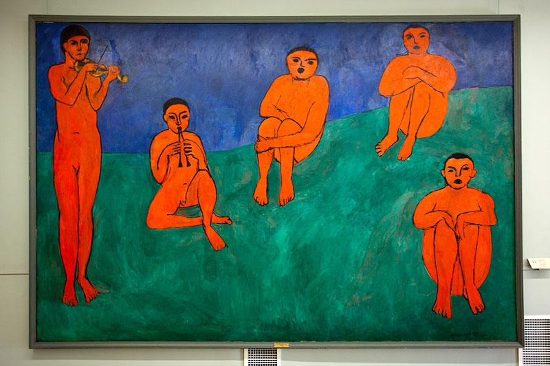 Gemälde in der Eremitage, St. Petersburg