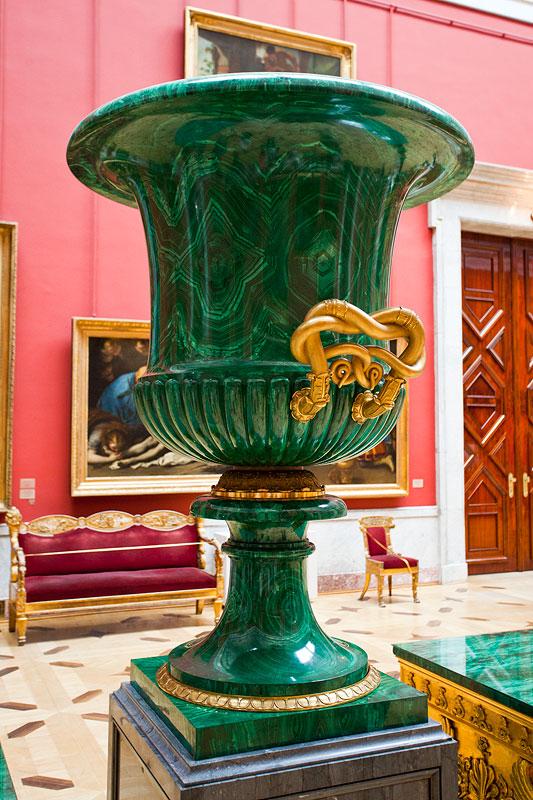 Ausstellungsstück in der Eremitage, St. Petersburg