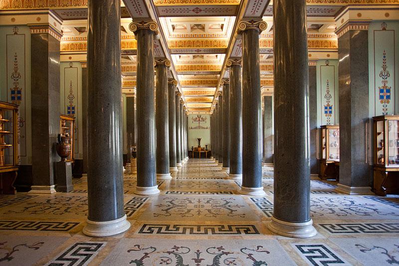 Raum der 16 Säulen, Eremitage, St. Petersburg
