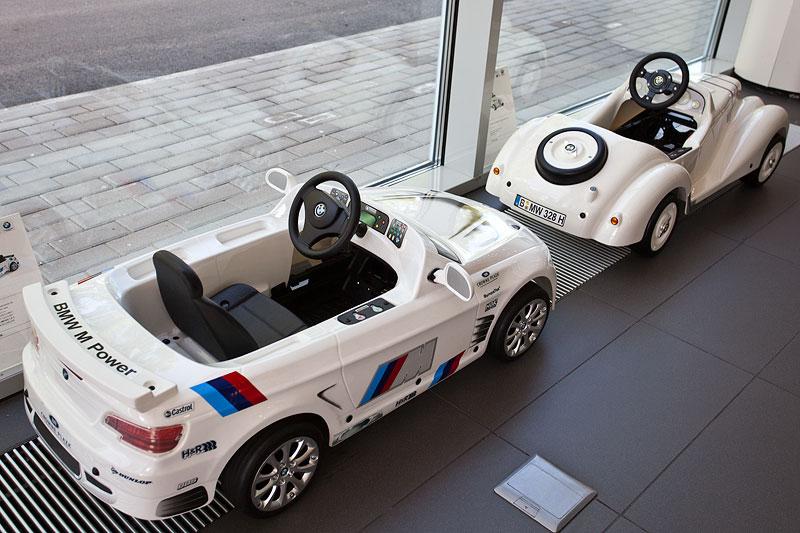 M Fahrzeuge für die jüngeren Kunden
