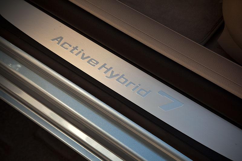 BMW ActiveHybrid 7 (F04 LCI), Einstiegsleiste
