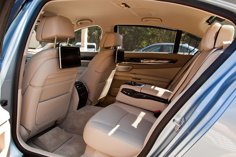 Testwagen in St. Petersburg: BMW ActiveHybrid 7 (F04 LCI)