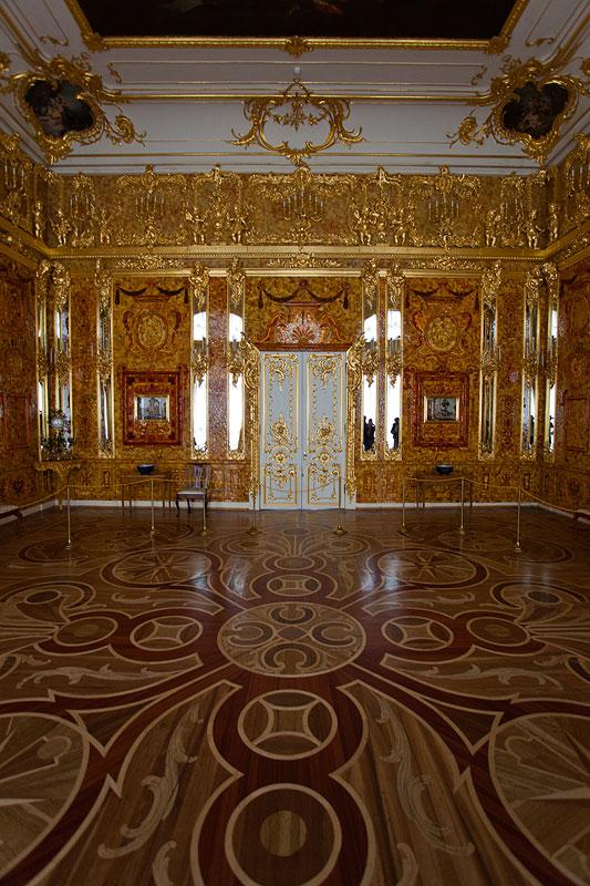 Bernsteinzimmer im Katharinenpalast, St. Petersburg