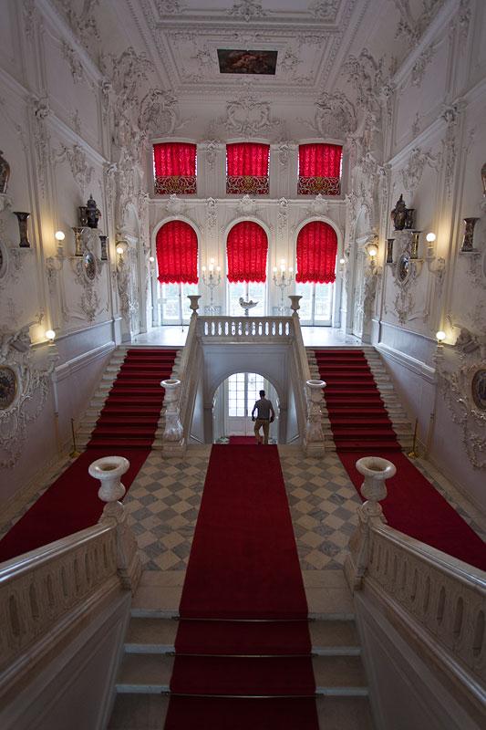 Katharinenpalast, St. Petersburg, Eingangs-Treppenhaus