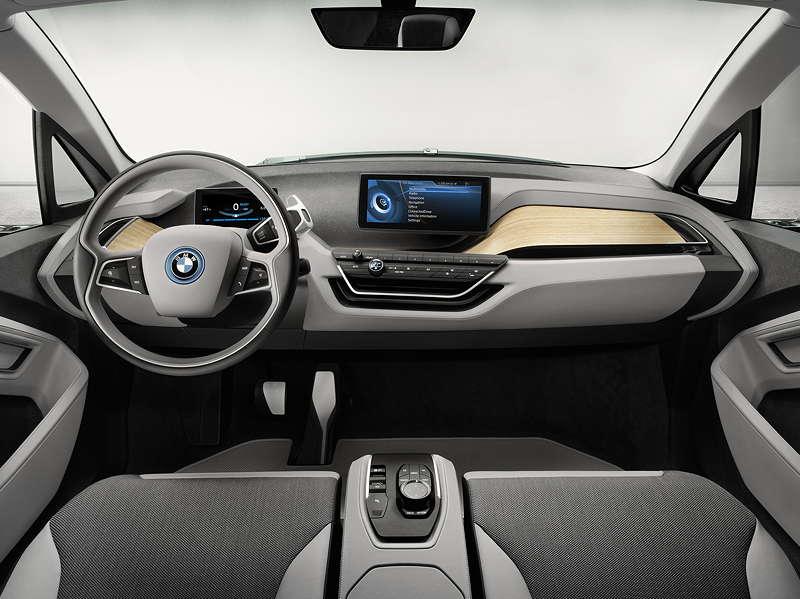 BMW i3 Concept Coupe, Cockpit