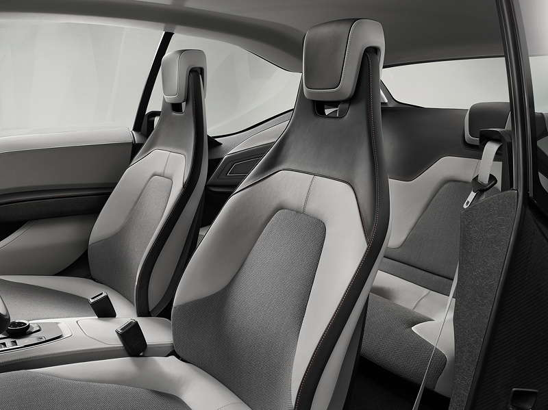 BMW i3 Concept Coupe, Innenraum