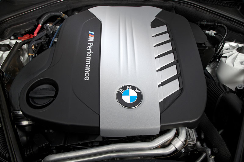 BMW M550d xDrive (F10), Motor