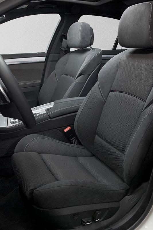 BMW M550d xDrive (F10), Interieur vorne