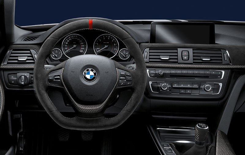 BMW M Performance Lenkrad Alcantara mit Blende Carbon
