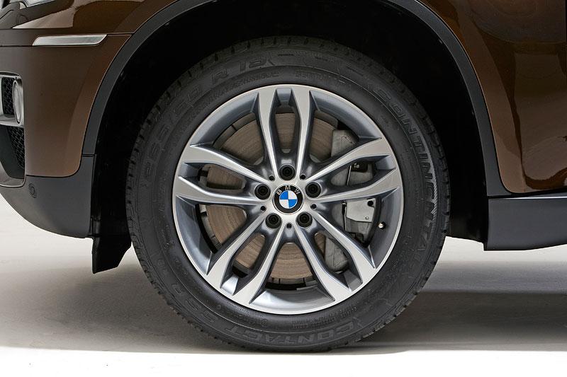 BMW X6, Faceliftmodell 2012 (E71 LCI), Rad