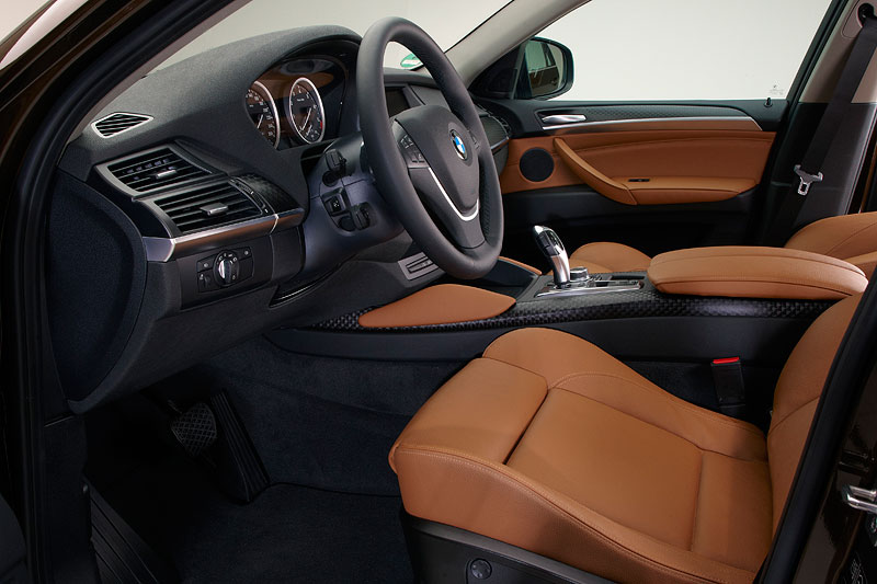 BMW X6, Faceliftmodell 2012 (Modell E71 LCI), Interieur vorne