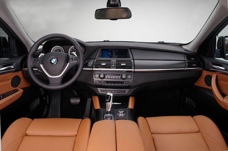 BMW X6, Faceliftmodell 2012 (Modell E71 LCI), Interieur