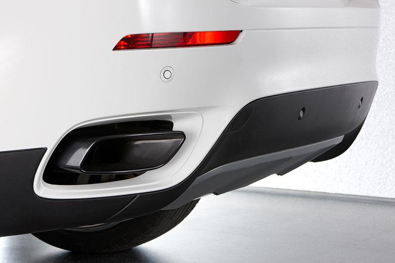 BMW X6 M50d, Auspuff-Endrohr