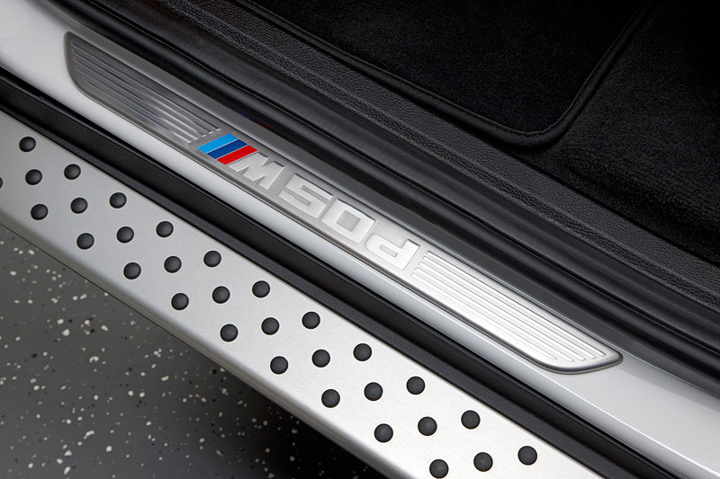 BMW X6 M50d, Einstiegsleiste