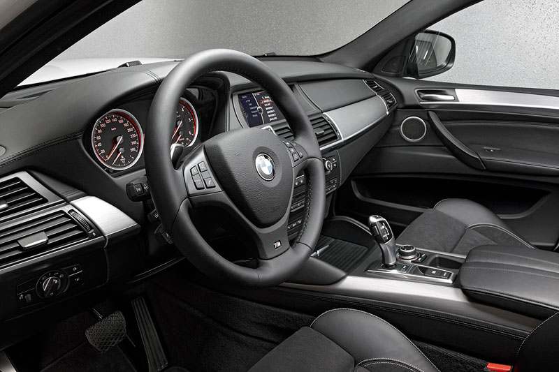 BMW X6 M50d, Interieur vorne