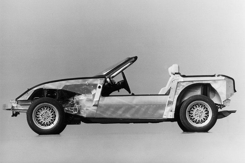 BMW Z1 ohne Kunststoff-Außenhaut, 1986