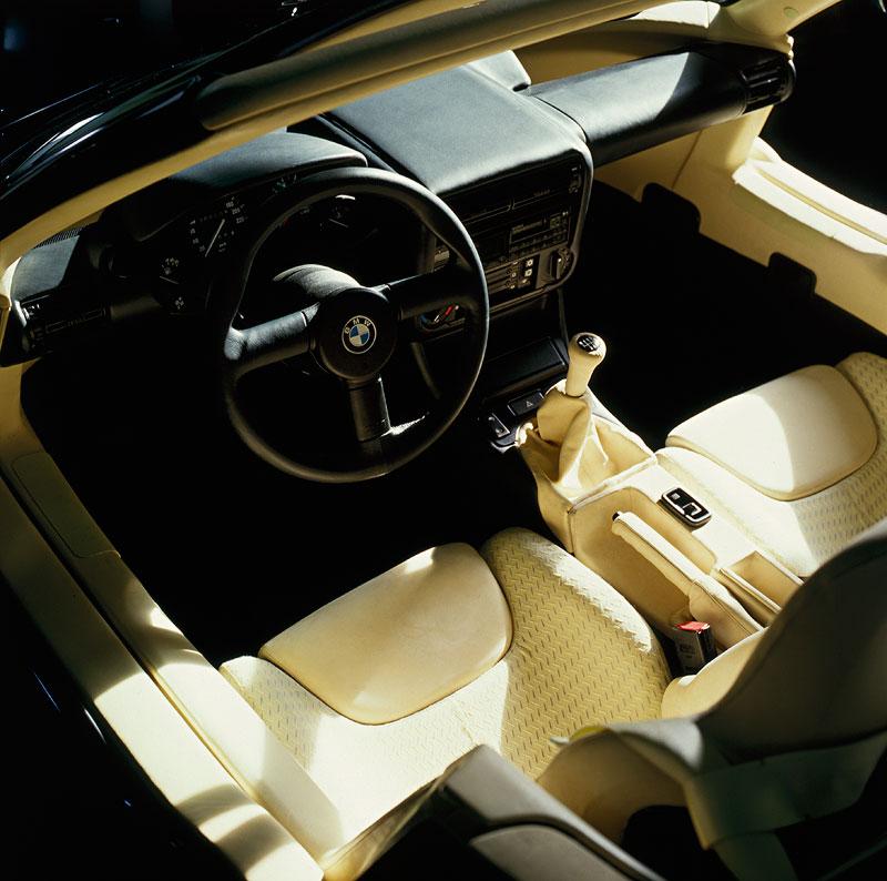 BMW Z1, Cockpit, 1987