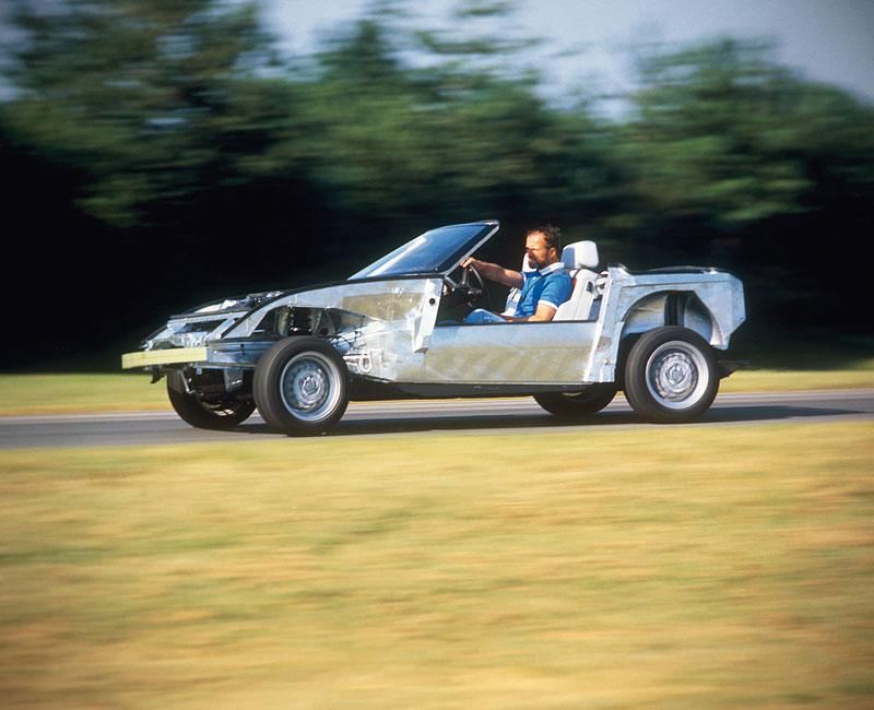 BMW Z1 Versuchsfahrten, 1986
