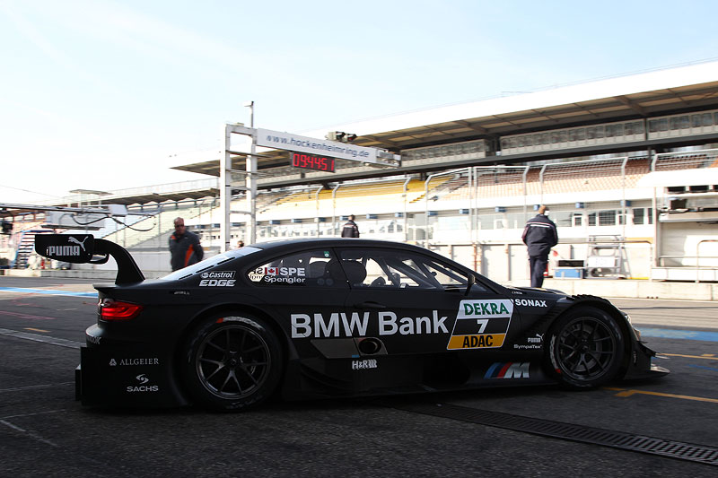 Foto: Hockenheim, 2. April 2012. BMW Motorsport. BMW M3