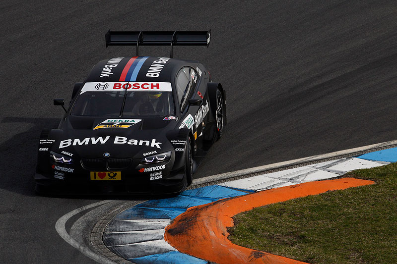 Hockenheim, 2. April 2012. BMW Motorsport. BMW M3 DTM Test. BMW Bank BMW M3 DTM.